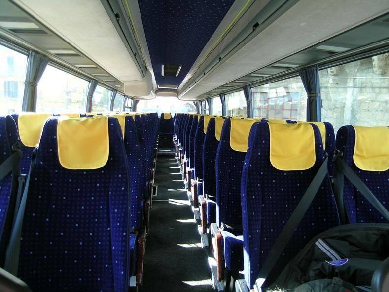 Noleggio Autobus Pullman Salerno Napoli Roma